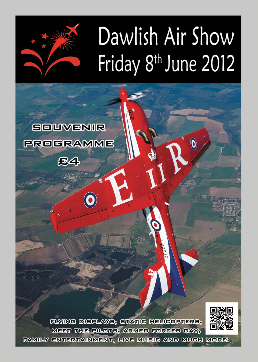 Dawlish Air Show Programme 2012 (all copy and design)