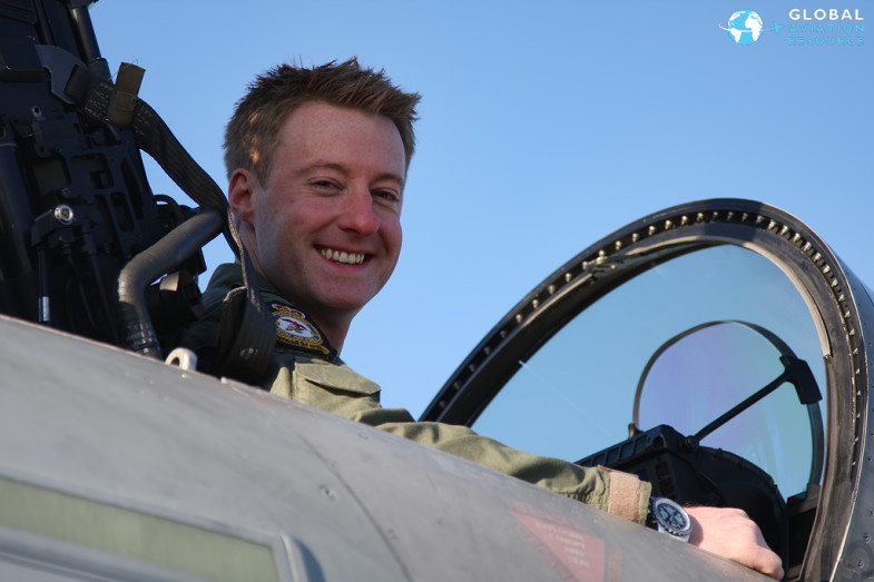 Jamie at RAF Coningsby